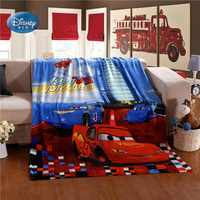 Disney Fulmine Mc queen Auto Morbida Coperta di Peluche Coperte e Plaid Coperta di Flanella lenzuolo per I Bambini dei Capretti Ragazzi Regalo Di Compleanno