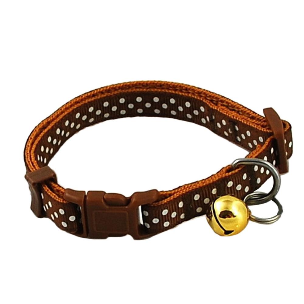 Small Pet Collar Brown