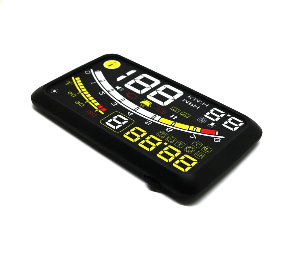 EANOP HUD 5 5Plus head up display Car Digital speedometer OBD2 Water  temperature, Oil Consumption Monitoring for Cars Truck