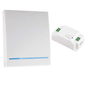 Image 2 - 2019 New 110V 220V Receiver Smart Switch  Wireless Switch Light RF Remote Control AC Wall Panel 86 Type 433Mhz