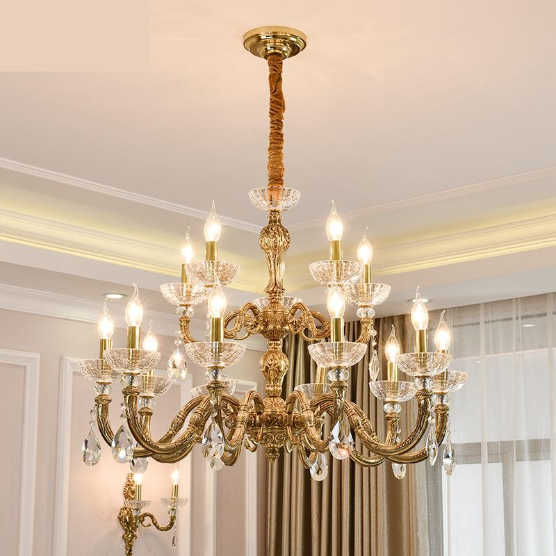Chic Dining Room Chandeliers: French Style Living Room Chandeliers Ceiling All Copper