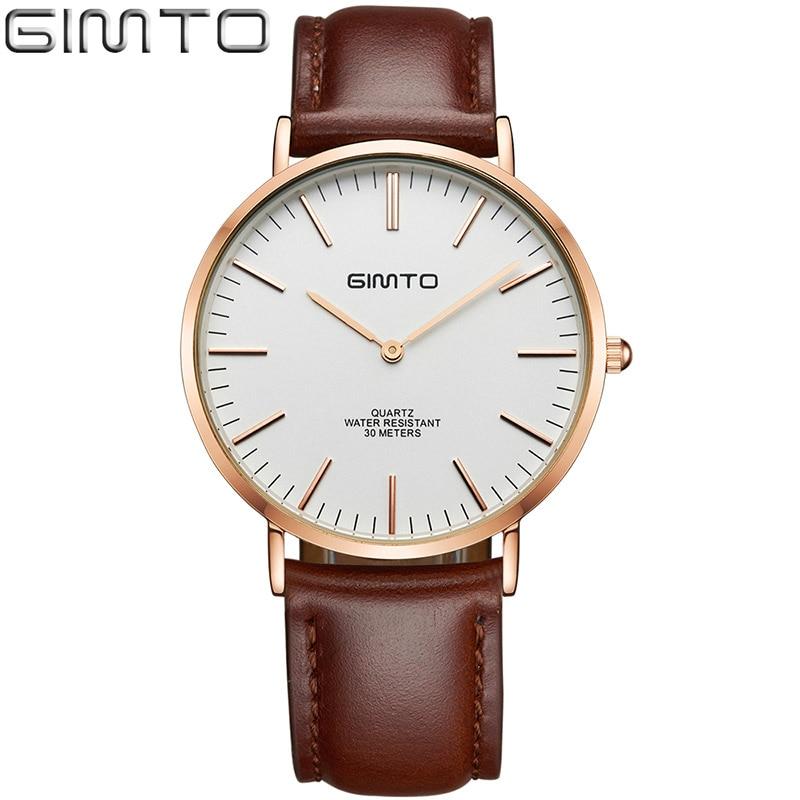цена на Simple Men Watches Fashion Thin Waterproof Leather Strap Quartz Wrist Wristwatch Clock Male Relogio Masculino Hodinky Ceasuri 51