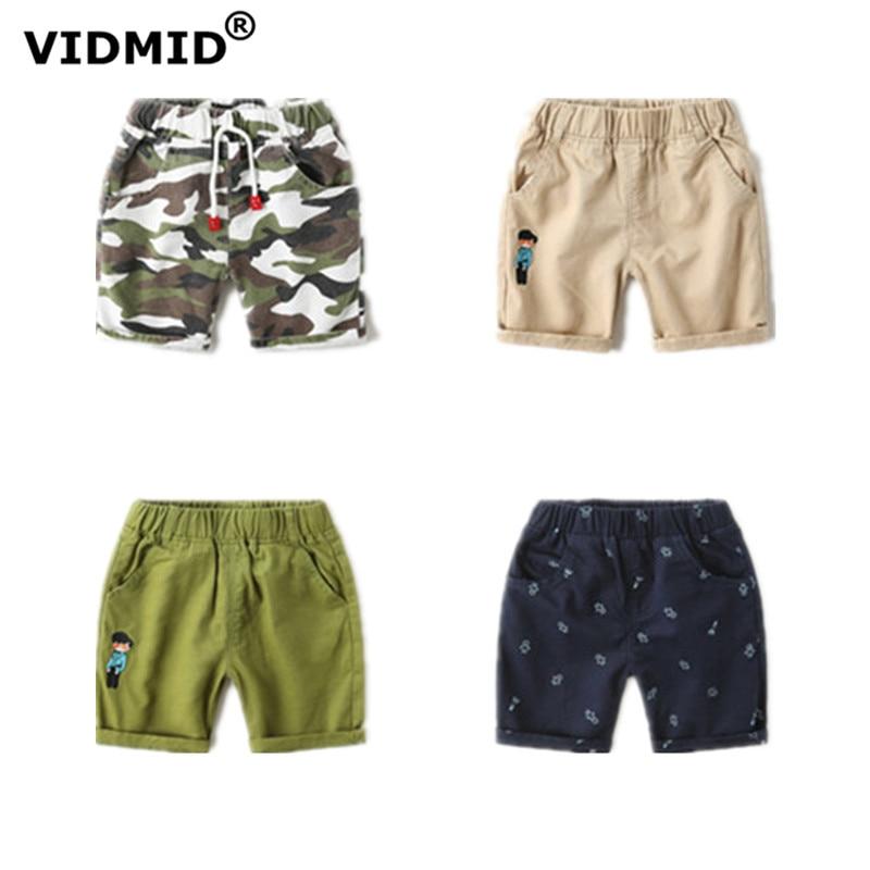 VIDMID kids Boys Summer Jeans   Shorts   Children Cowboy   Shorts   Cotton   Short   Pants Casual Baby Boys Trousers 2-6 years Kids 7080 02
