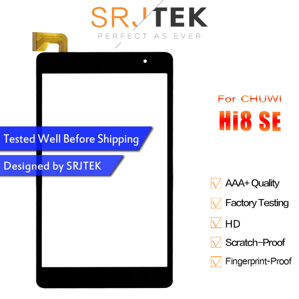 Touch Screen For CHUWI Hi8 SE / CHUWI Hi8-SE MTK8735 Digitizer Sensor Glass Panel Front Screen Hi 8 SE Screen