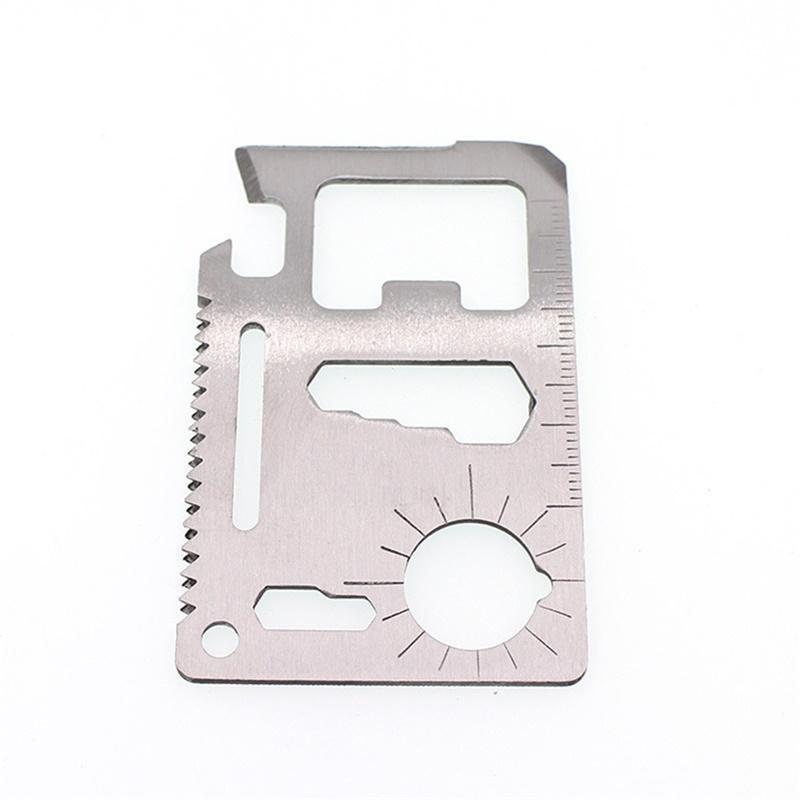 Mounchain Knife Card Multifunctional Multipurpose Survive Camp Opener Wallet Outdoor Tools Gadget