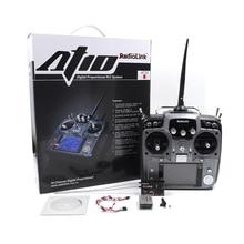 STARTRC Radiolink AT10II 2,4 Ghz 10CH RC Sender mit R12DS Empfänger PRM 01 Spannung Modul Für RC Hubschrauber Flugzeug