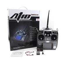 STARTRC Radiolink AT10II 2.4Ghz 10CH RC Trasmettitore con Ricevitore R12DS PRM 01 Modulo di Tensione Per RC Helicopter Airplane