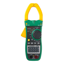MS2026R Digital Clamp Meter AC/DC Voltmeter Resistance Frequency Detector Multimeter 1000A Range 6000 Counts Digital Clamp test(China)