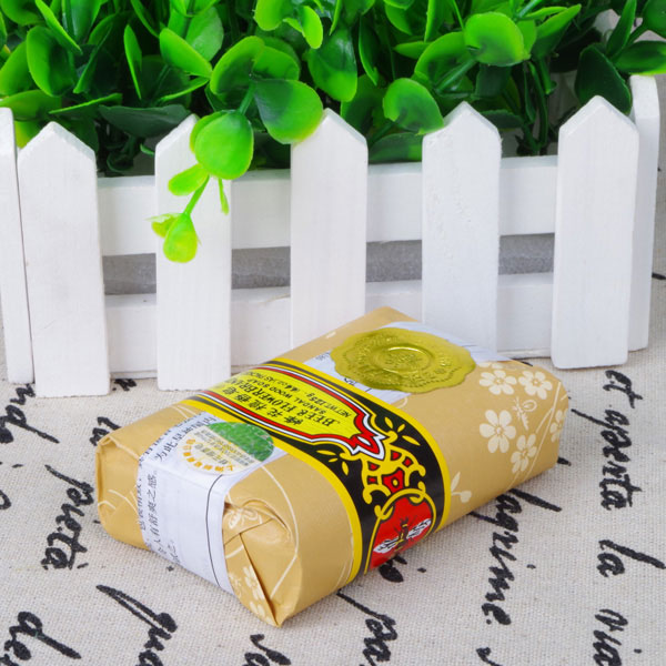 25g Mini Soap Bee Flower Sandalwood Acne Soap Bath Removing Mites Travel Package Toilet Soaps 998
