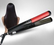 Buy online Professional Hair Straightener Digital LCD Display Titanium plates Flat Iron Straightening Irons Styling Tools EU Plug