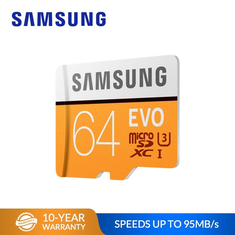 SAMSUNG Memory Card Micro SD Card  EVO 128GB 64GB 32GB MicroSDHC C10 TF Card MicroSDXC UHS-I Flash Card For Smartphone Tablet