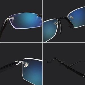 Image 4 - نظارات للقراءة مع حافظة + 1.00 + 1.50 + 2.00 + 2.50 + 3.00 + 3.50 + 4.00 TR90 Oculos de Leitura بدون إطار مضاد للانعكاس