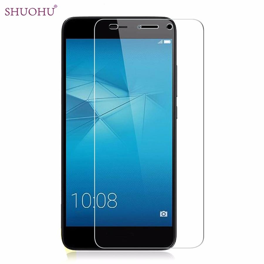 SHUOHU Tempered Glass Huawei Y3 2017 Screen Protector Huawei Y3 2017 CRO-L22 L02 L03 Screen Protector Glass pelicula de vidro