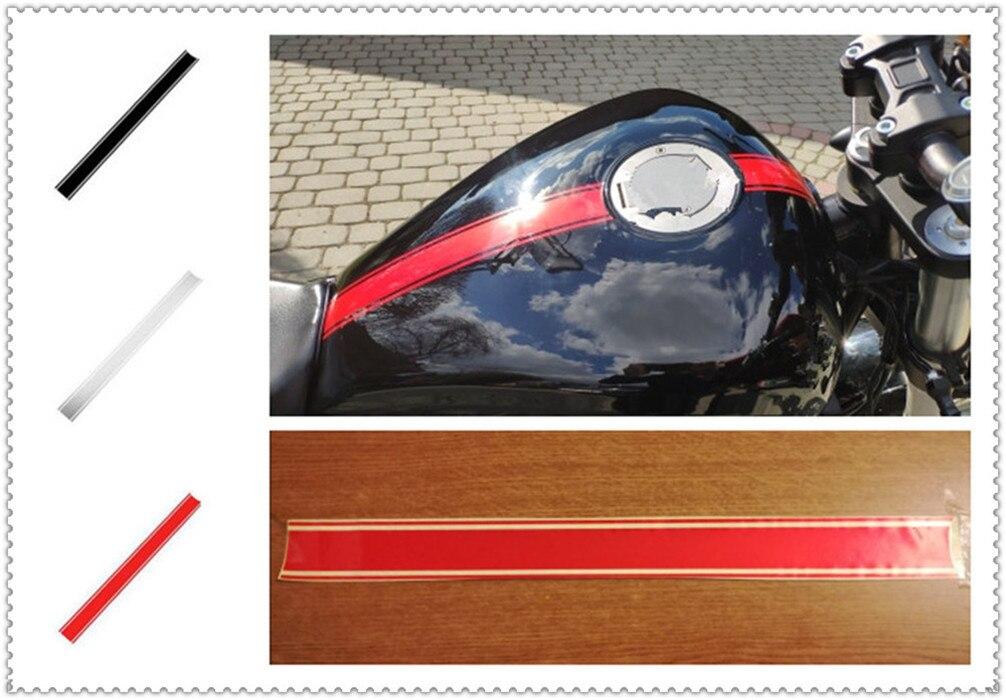 50cm Car Motorcycle Shape Sticker DIY Fuel Tank Cap Reflective For Ducati ST4S Scrambler Desert Sled 950 1200 S GT MULTISTRADA