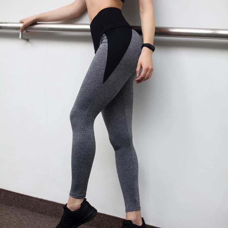 Image 4 - NORMOV Fashion Patchwork Women Leggings High Waist Elastic Push Up Spandex Ankle Length Legging Causal Leggings Fitness Female-in Leggings from Women's Clothing