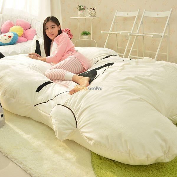 Fancytrader 270cm X 160cm Giant Soft Plush Stuffed Double Size Rabbit Bunny Mattress Carpet Tatami Bed, FT50680 (10)