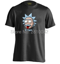 Rick and Morty Love Physics Science E MC2 Einstein Mens & Womens Funny T Shirts Cotton T Shirt