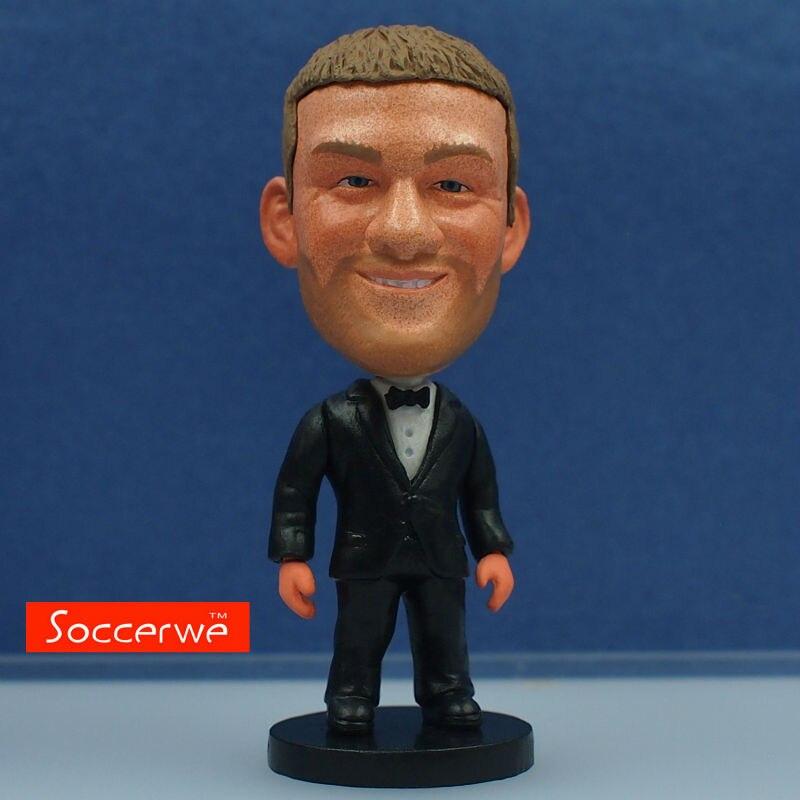 Soccer Star ROONEY (Full Dress) Dolls 2.5 Figurine