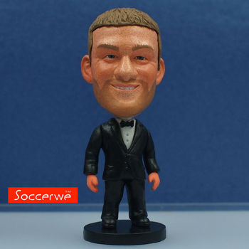 Soccer Star ROONEY (Full Dress) Dolls 2.5 Figurine muñeco buffon