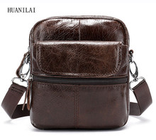 HUANILAI Men Genuine Leather Bags Messenger Shoulder  Crossbody For 100% Cowhide Handbags MLT02