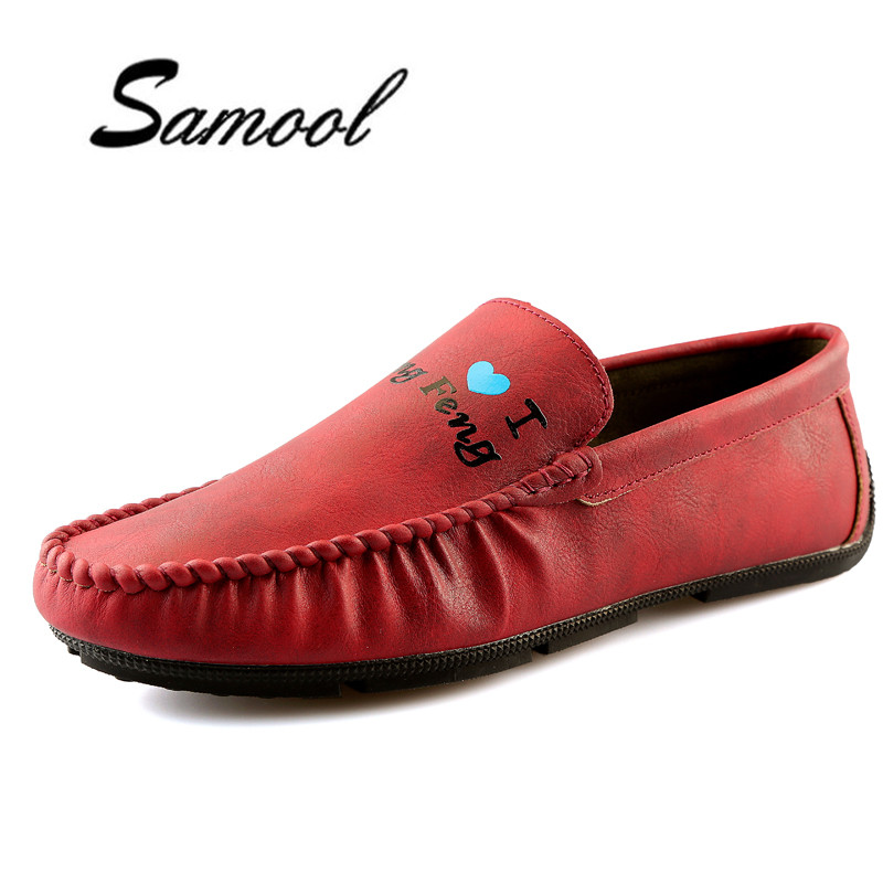 Spring autumn Men Leather Shoes New Fashion Moccasins Leather men Loafers Design Slip on Comfort Peas Shoes Driving Flats ly5 dekabr new 2018 men cow suede loafers spring autumn genuine leather driving moccasins slip on men casual shoes big size 38 46