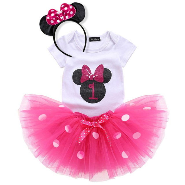 Baby Mini Mouse Clothes Set...