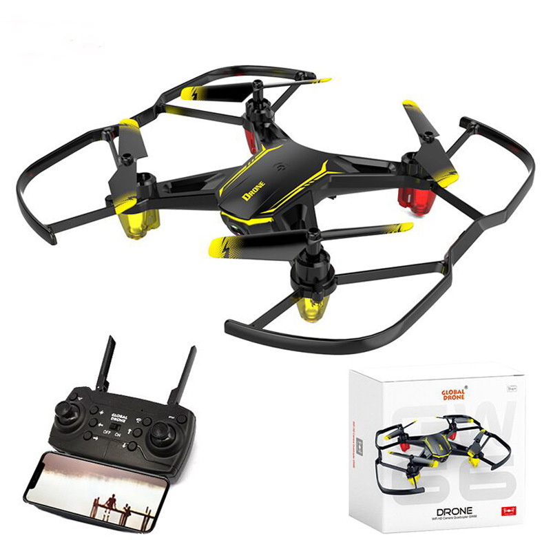 <font><b>Mini</b></font> <font><b>Drone</b></font> Quadrocopter <font><b>FPV</b></font> <font><b>Drones</b></font> with Camera Cheap RC Helicopters Delicate compact 480P Remote Control Dron Toys for Boys image