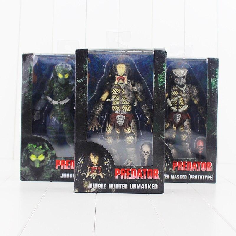 Predator Action Figure Classic Movie Arnie Horror Alien Model PVC Gift Scary New