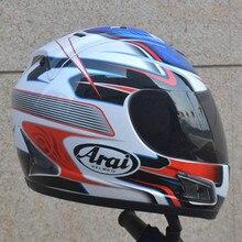 Motorcycle helmet full face Japan arai helmet full face Male and female knight run motorcycle helmet warm seasons