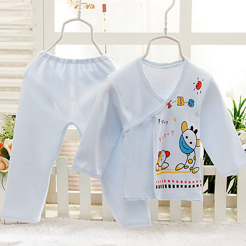 12edb01a3bd US $4.99 |100% Cotton Newborn Baby Underwear Set 0 6 Month Baby Clothing  Infants Suits Girl Boy Kids Clothes Cute Soft Kids Cloth 3 Colors-in  Clothing ...