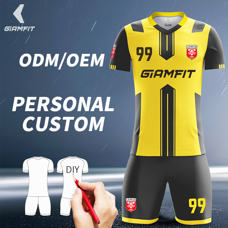 d3f8cb73f38 Manufacturer Custom Soccer Jerseys High Quality Football Training Uniform  Set Fully DIY Printing Sports Clothing XS