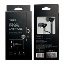 Rock Zircon Stereo Earphone with Mic for Smartphone
