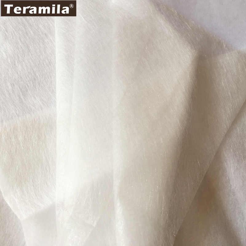 50 см x 110 см/шт прокладка тканевые основы с двухсторонней клеющей поверхностью ленты квилтинга ткань кремовый белый batting аксессуар