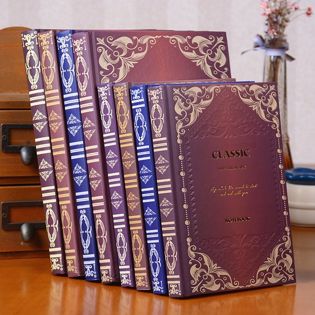 Vintage A5 B5 Lined Diary Notebook Classic Business Planner Notepad Memory Books Children Birthday Gift Elegant vintage a5 b5 lined diary notebook classic business planner notepad memory books children birthday gift elegant