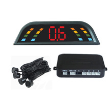 security 303 LED display radar car parking sensor system with 4 pcs 22mm ultrosonic sensors reversing rear parking assist