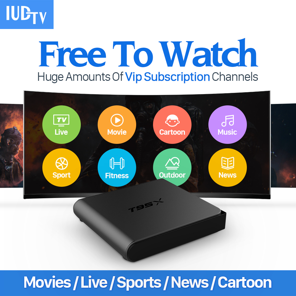 T95X Arabic Europe IPTV Box Android TV Box IPTV Receiver & 1700+ Live French Turkish Netherlands Channels Better Than MXV Andr iptv streaming box leadcool android wifi 1g 8g include 1700 italy portugal french receiver europe arabic channels package