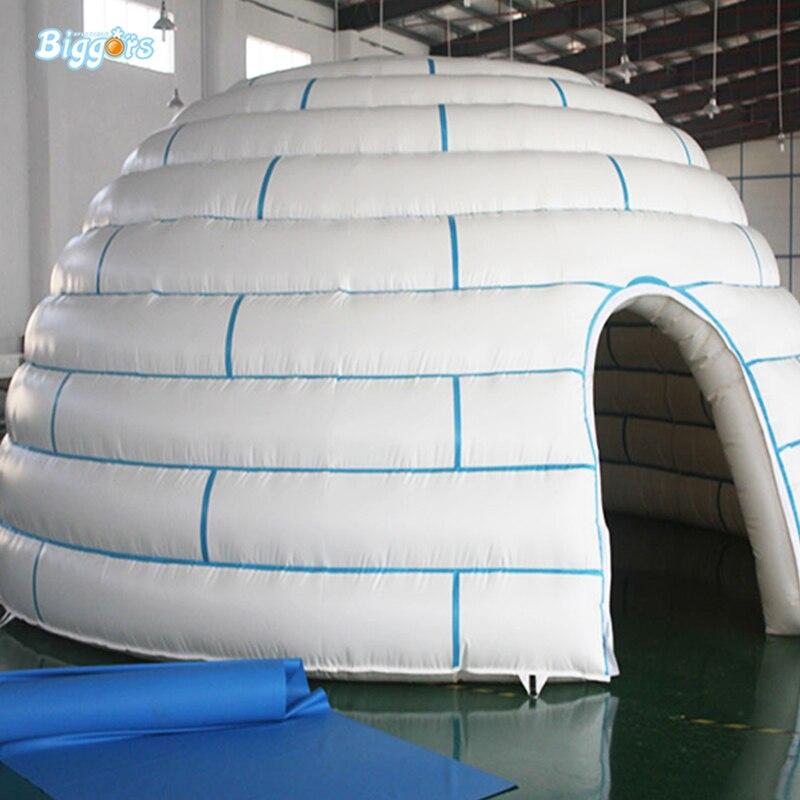 ПВХ Материал планетарий палатка надувной купол иглу палатка туристическая палатка Спорт TennisTent надувные для продажи