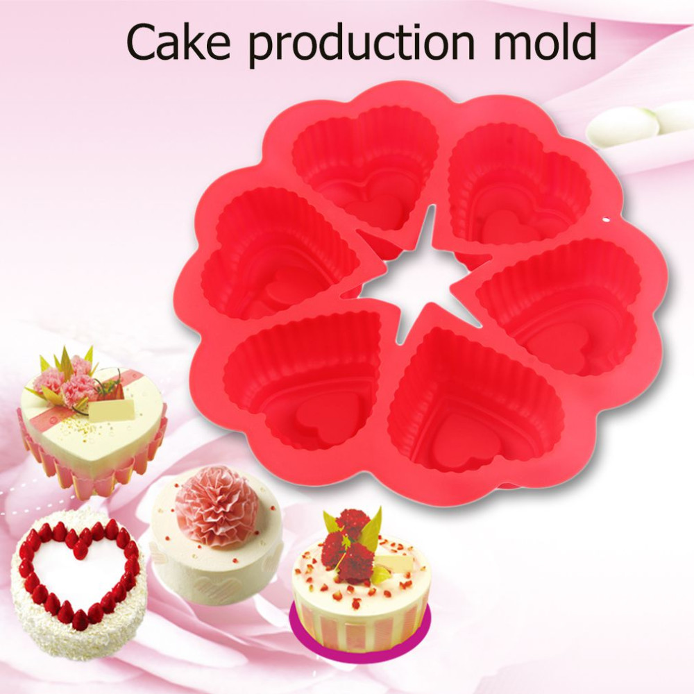Love Heart Shpaed Cake Mold kitchen tools