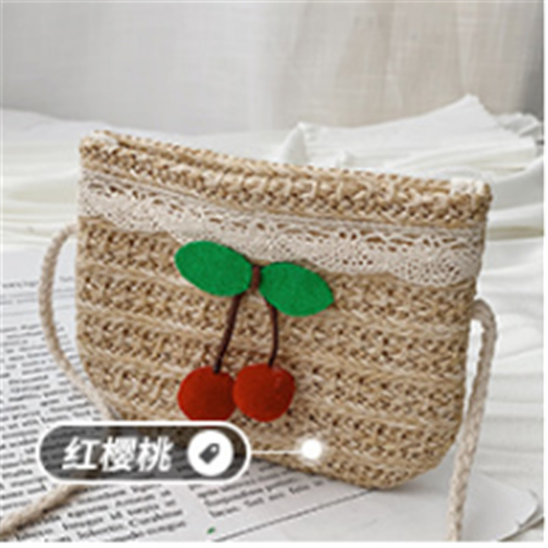 Lovely Toddler Baby Girl Beach Messenger Bags Children Kids Girls Stylish Straw Shoulder Bag Handbag Gifts Fashion Diaper Bags