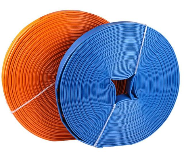 50mm diameter 20m/roll Thicken PVC water band Agricultural irrigation Water Hose Plastic soft tube