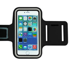 Sport Armband Arm Band Belt Cowl Waterproof Operating Bag Case For Apple iPhone 5.5inch 6/6S Plus Cellular Telephone with Key Holder