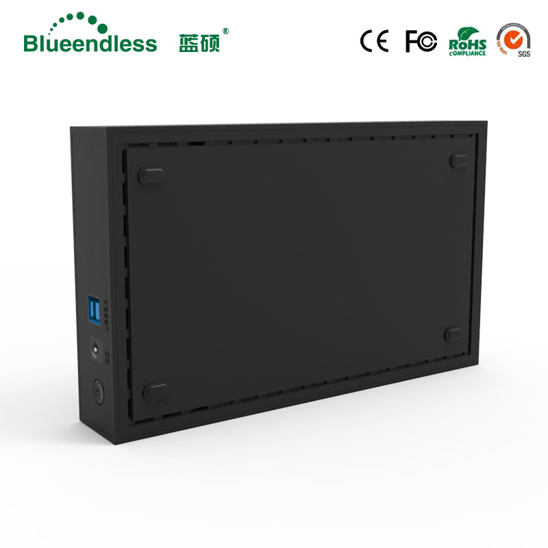 Blueendless tool free 3 5 39 39 sata hdd case power hard disk caddy USB 3 0 5gbps hdd enclosures suit for 6TB sata computer hdd ssd in HDD Enclosure from Computer amp Office