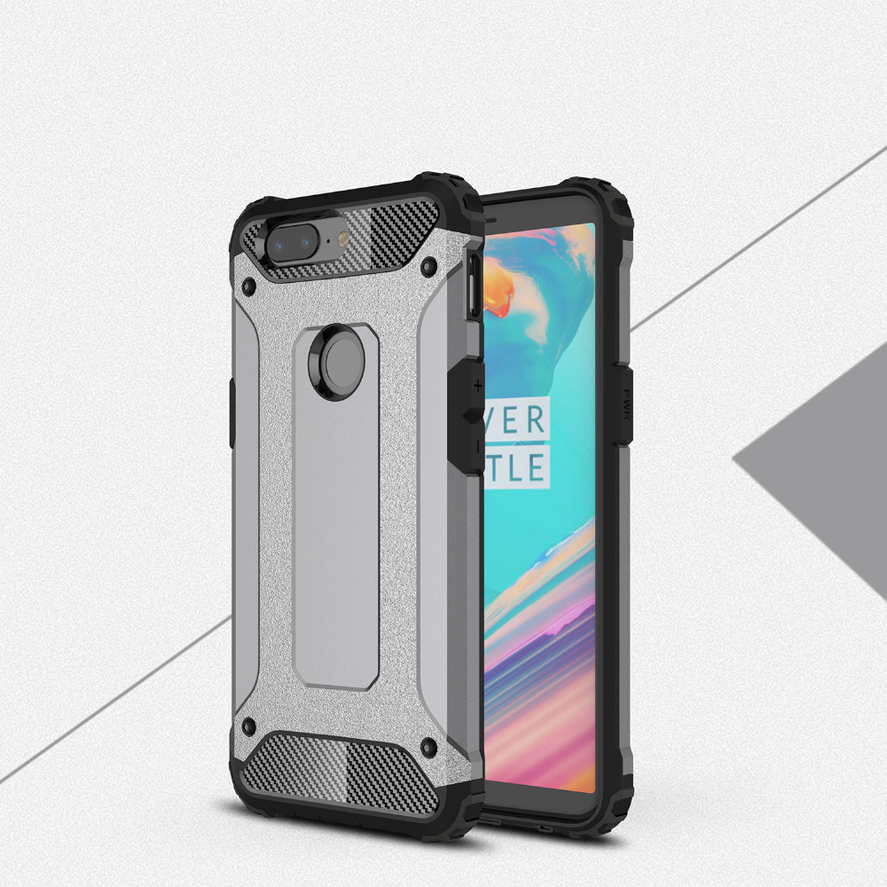 meet 457b9 69605 US $3.37  MUXMA For Oneplus 5T Case Shockproof Hard Rugged Cover For  Oneplus 5 PC TPU 2 in 1 Hybrid Armor Phone Cases For Oneplus 5T-in Fitted  Cases ...