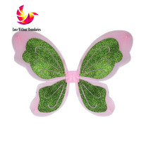 Beauty Hand Wings Children Performance Party DIY Decorations Dress Up Spark Flower Fairy Flash Butterfly Wing