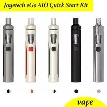Original Joyetech ego kit aio Pluma Vape cigarrillo electrónico sin líquido/1500 mAh Batería
