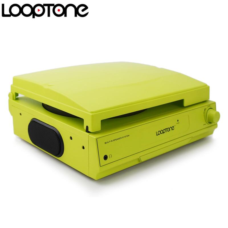 LoopTone 33/45/78 RPM Vinilo LP Reproductor de discos tocadiscos - Audio y video portátil - foto 3
