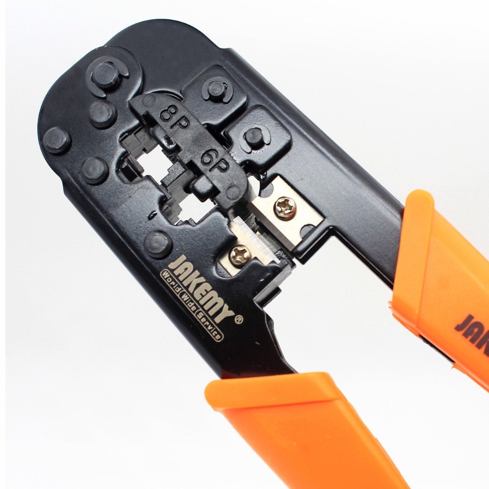8P 6P Internet Network LAN Cable Wire Crimper Strippers Cutting Tool ...