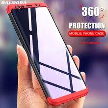 BALMORA 360 Degree Full Cover Case For Samsung