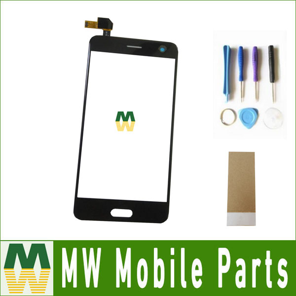 1PC / Lot 5.2 For ZTE Blade V8 Touch Screen Digitizer Touch Glass Replacement Black White Color With Tool+Tape