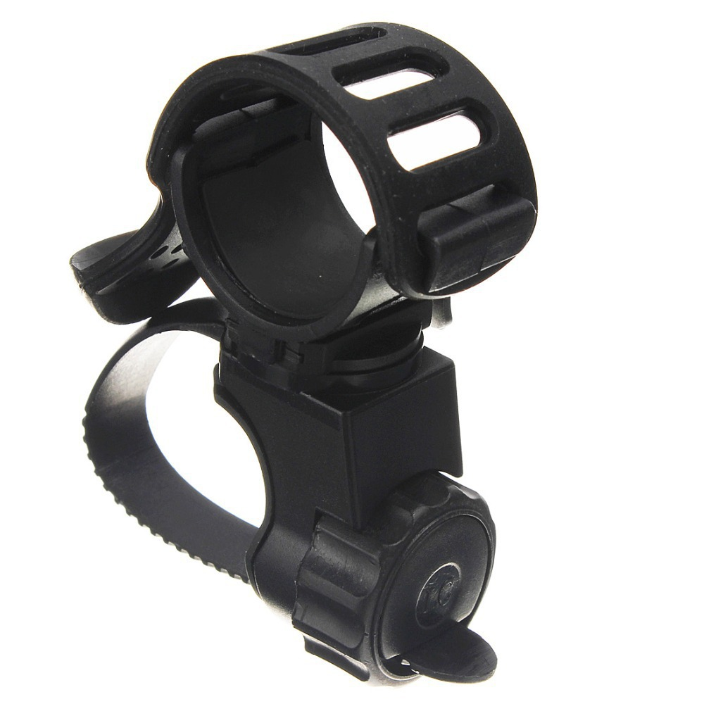 360 Degree Cycling Bicycle Bike Mount Holder for  Flashlight Torch Clip Clamp